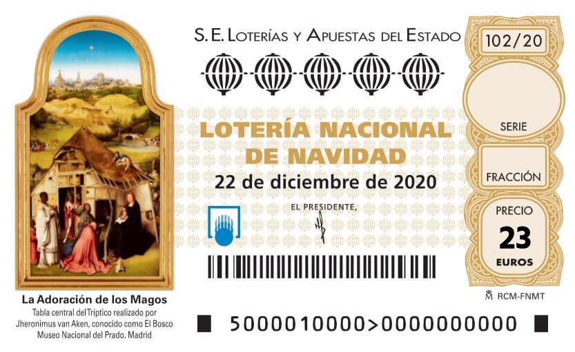 Reserva de Lotería de Navidad 2020